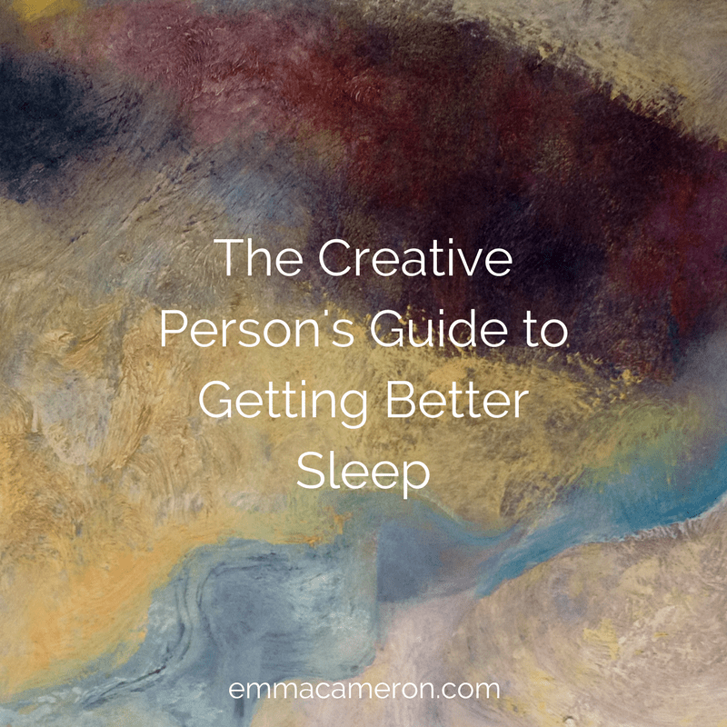 The Creative Person's Guide to Getting Better Sleep