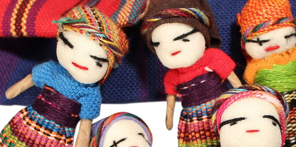 THE LEGEND OF THE WORRY DOLLS