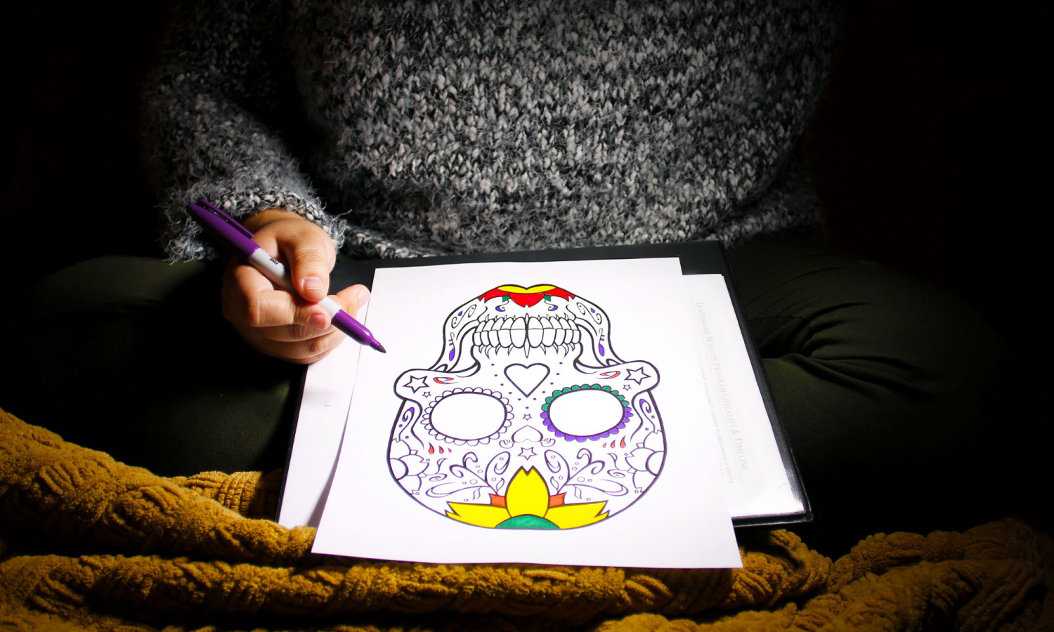 Why grown-ups love coloring books too