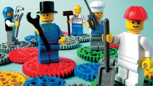How to use Lego to build creativity in business