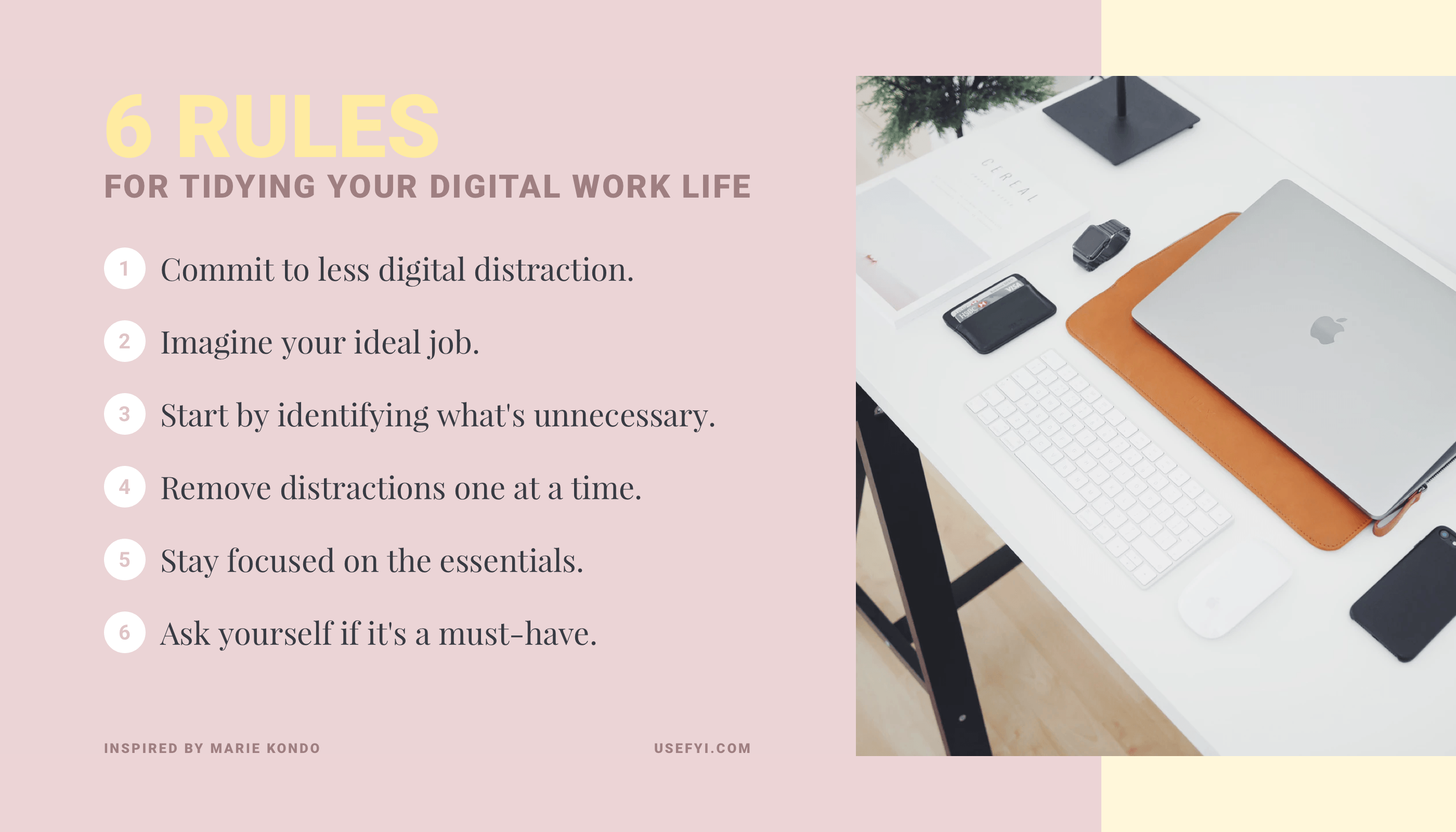 How to Use Marie Kondo's Konmari Method for Your Digital Work Life